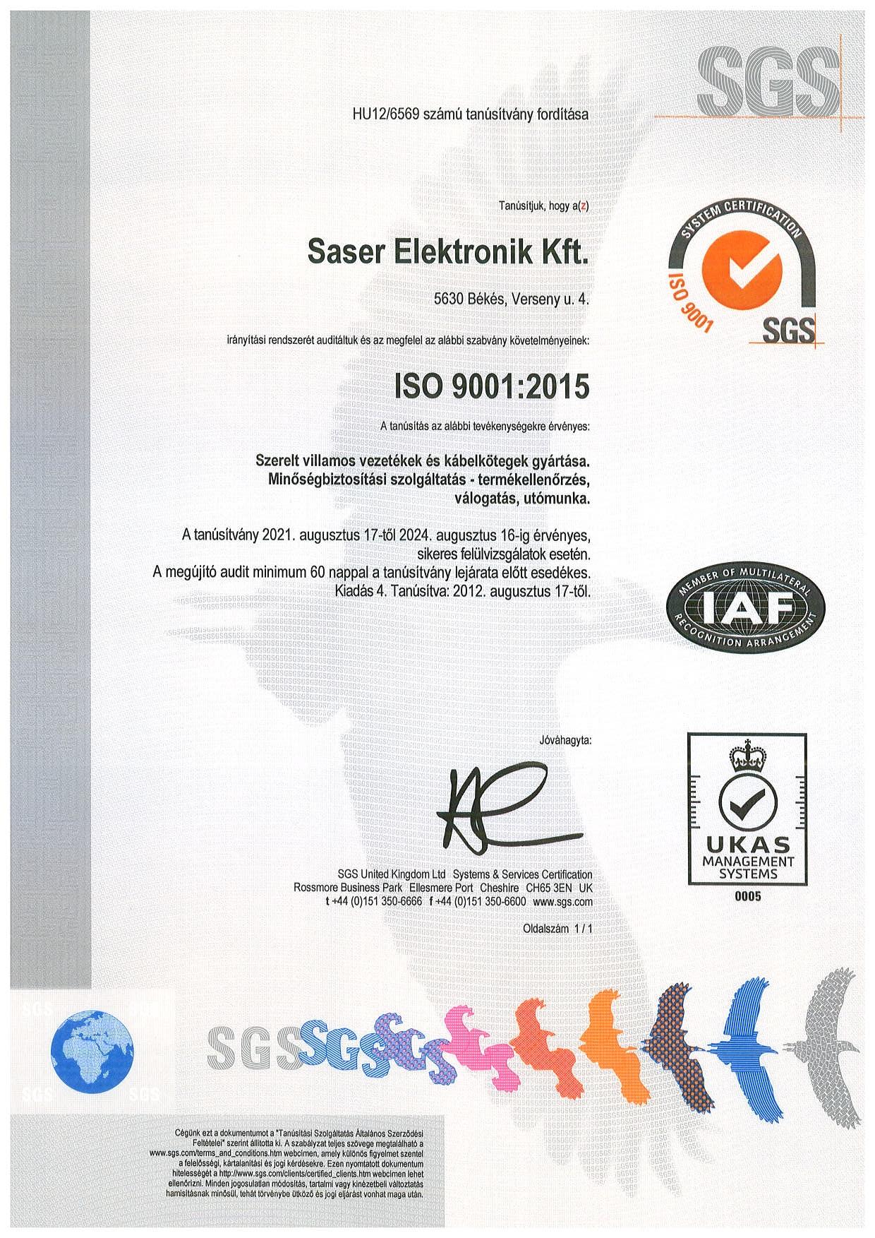 ISO_tanúsítvány_SASER